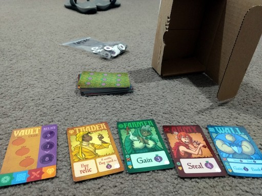 Roll-to-Review-board-games-village-pillage-components