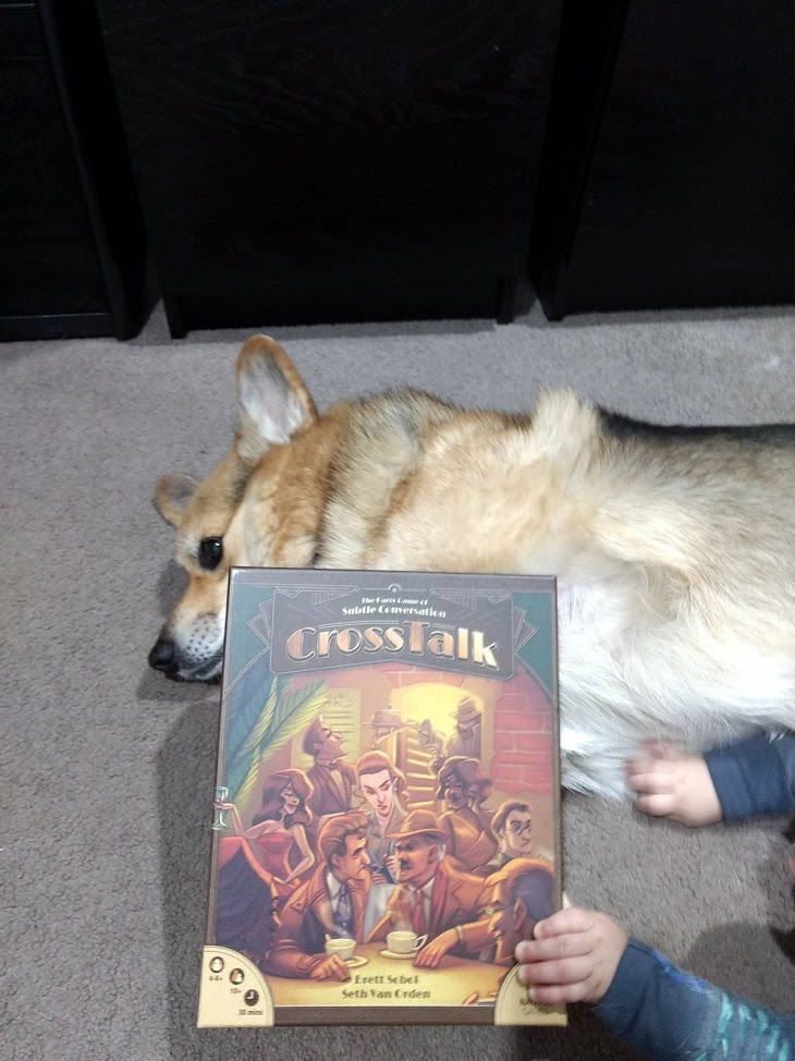 Roll-To-Review-board-game-CrossTalk-Chester-dog