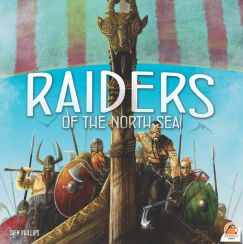 Raiders of the North Sea cover, angry vikings ready to raid