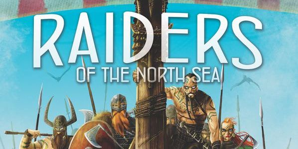 Raiders of the North Sea cover, angry vikings ready to raid