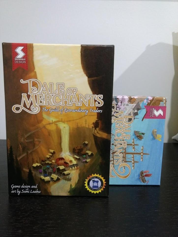 Dale of Merchants 1 & 2 Boxes