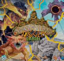 Jagged Earth box cover. Several spirits on front cover.