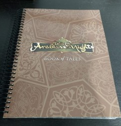 The Book of Tales, a key component for Tales of the Arabian Nights