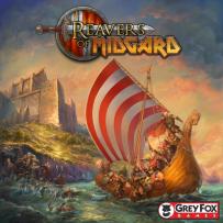 Reavers of Midgard box cover. Vikings, lot's of vikings.