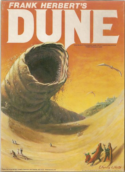 A huge worm rises out of the Dune. People are screwed!