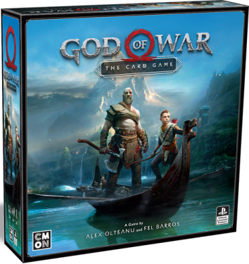God of War The Card Game Box Cover