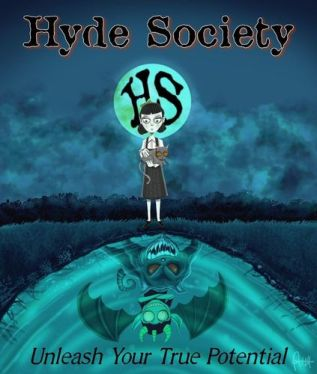 Hyde Society Board Game Box Cover