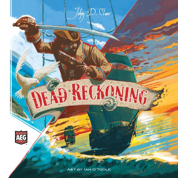 Cover art for Dead Reckoning an AEG game designed by John D Clair, and art by Ian O'Toole