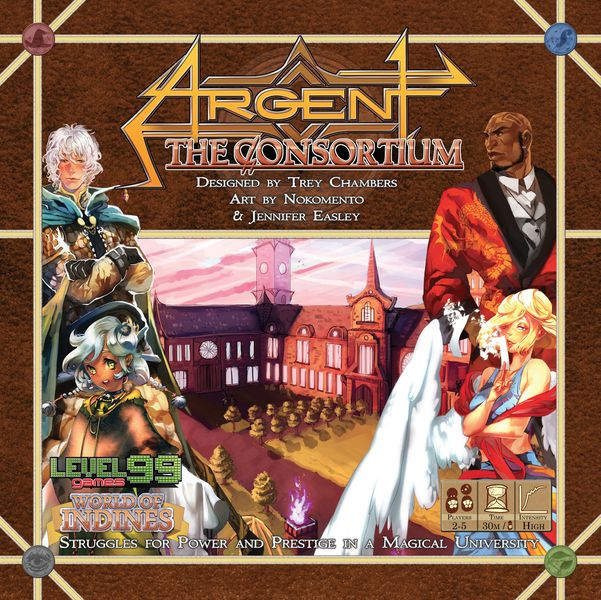 The cover box for Argent the Consortium