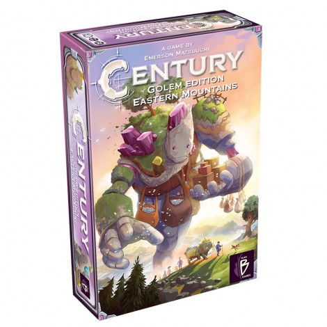 Century: Eastern Mountains board game cover.