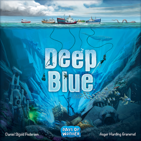 Deep Blue board game cover.