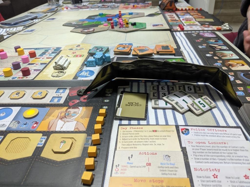 Escape Plan money hidden behind player screen